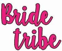 10xHens BrideTribe Hot Pink 30mmx40mm Tattoos