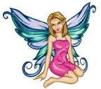Fairy 3 Temporary Tattoos 40x40mm