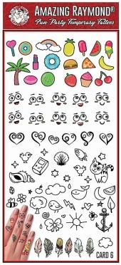 Fun Mini Hand Tattoos 6 Mel