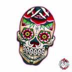 Individual 7 Sugar Skull with Scar 40x40mm
