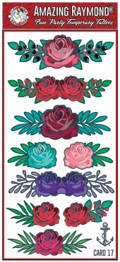 Childrens Temporary Tattoos Rose Band Tattoos