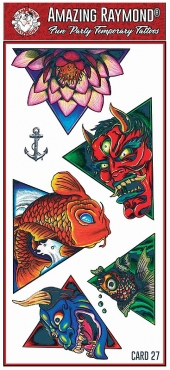 Childrens Tattoos Devils and Monsters Tattoos