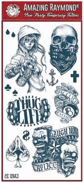 Tattoo Fun Card 35 Mel