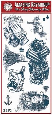 Tattoo Fun Card 37 Mel