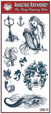 Tattoo Fun Card 44 Mel