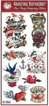 Tattoo Fun Card 50 Mel