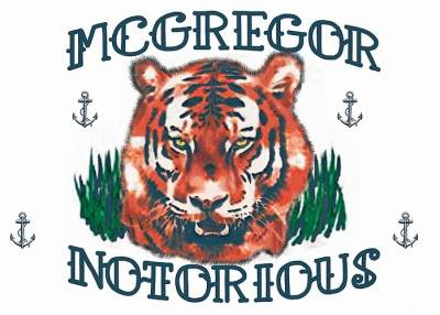 Tiger Mc Notorious Temporary Tattoos