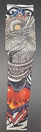 Tattoo Sleeves No20 Fire Heart Dragon