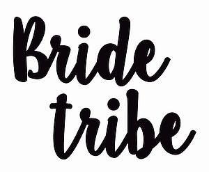 40 Hens Bride Tribe Black Tattoos