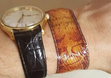 Skinprints Temporary Wrist Tattoos
