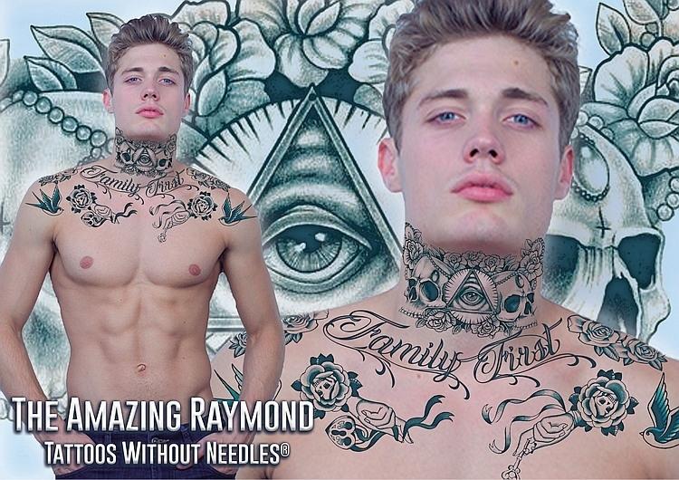 Neck Tattoos Amazing Raymond Tattoos Products
